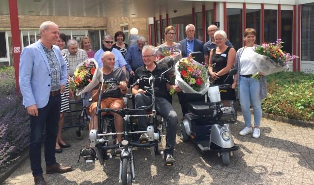 Oost Gelre kent al meer mobiliteitspools. Zo werd vorig jaar juni o.a. een duofiets en een scootmobiel bij woonzorgcentrum De Molenberg in gebruik genomen.
