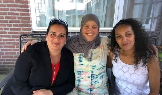 Vanaf het moment dat Nadia, Samia en Naima member van de Quiet Community werden steken ze de handen uit de mouwen als vrijwilliger.