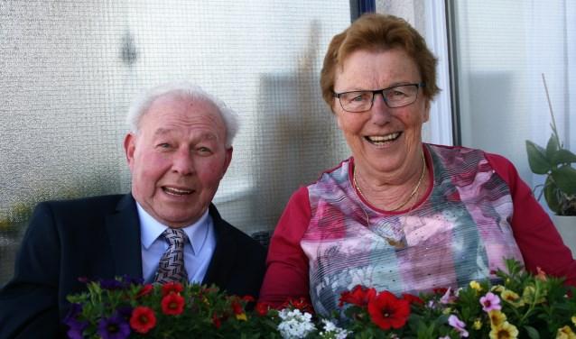 De heer en mevrouw Kalshoven vierden omringd door familie en vrienden hun diamanten huwelijk. En natuurlijk was achterkleindochter Julia Sofie ook van de partij!