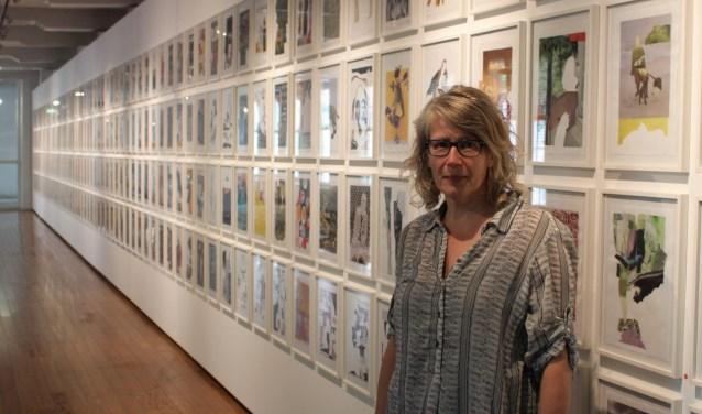 Delftenaar van de week Wilma knipte, plakte en componeerde in 365 dagen haar expositie 'Toeval Bestaat' in elkaar.
