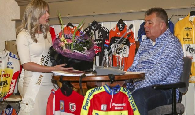 Rondemiss Lotte Altena met Jos Lammertink. Foto: Sportfoto/Dick Soepenberg.