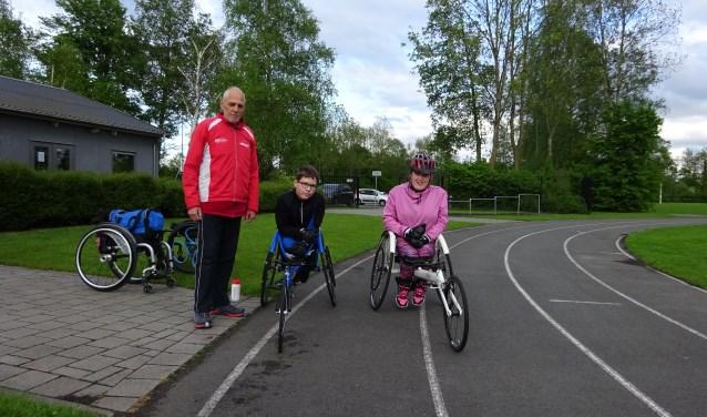 Han Meerleveld, Thomas van Hulst en Eva Mentink. Sophie Petersen was op vakantie. (Foto: Yvonne Krol)