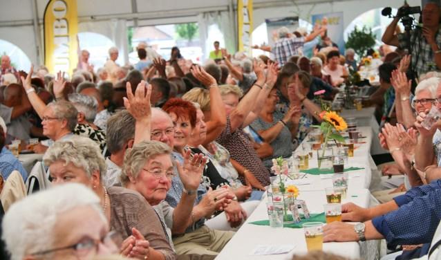 Wat zeven jaar geleden begon in de DRU is uitgegroeid tot een bekend event voor 65 jaar en ouderFoto: Freek Miggelbrink