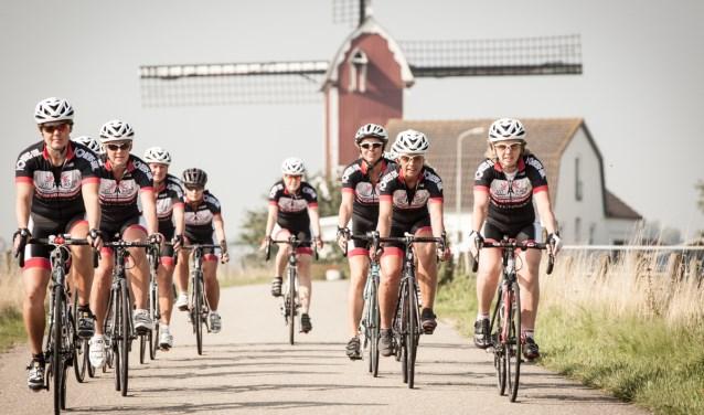 Leren wielrennen doe je bij TWC de Kempen.