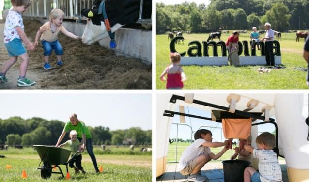 Op vrijdag 11 mei (de dag na Hemelvaart) en maandag 21 mei (Tweede Pinksterdag) openen 58 boerenfamilies hun staldeuren.