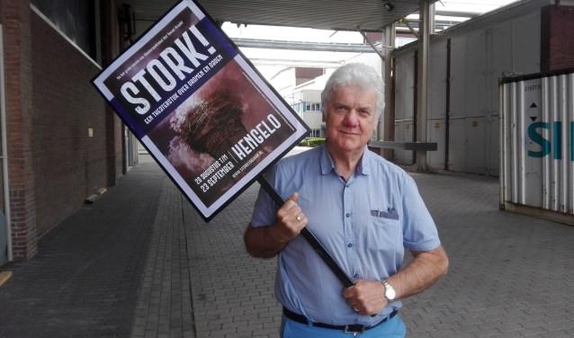 Johan Keizer is vrijwilligerscoördinator van de muziektheaterproductie STORK! Op 30 mei is er een informatieavond waar Johan en zijn collega's van alles vertellen over het werken als vrijwilliger bij STORK!