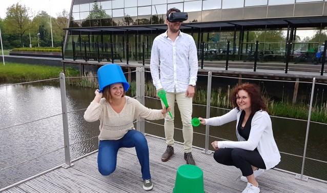 Van links af Danielle Andringa, Herald van Gerner en Alien Zwart. (foto: Alie de Vries)