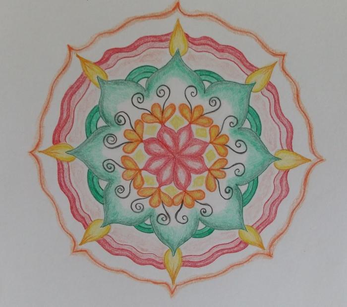 activiteit: start cursus mandala tekenen - mia tielen   boxmeers