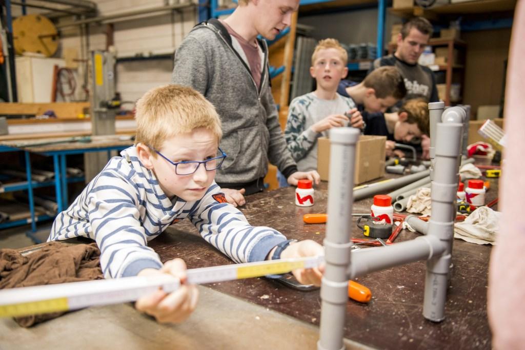 Kinderen vanaf 7 jaar worden echte techies bij de Tech Playground van de bibliotheek.