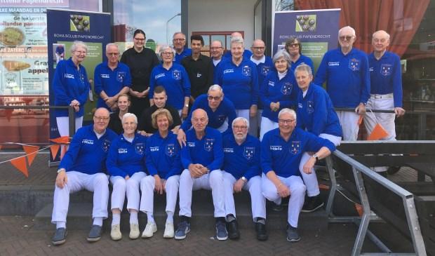Bowlsvereniging Papendrecht is in haar nopjes met de nieuwe shirtsponsor.