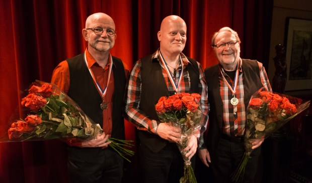 Marcel Vaandrager, Marcus Mulder, Frans Lodewijk.