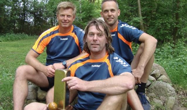 Het winnende tam van Java, bestaande uit Andre en Marcel Kamphuis en Ronald Snippert.