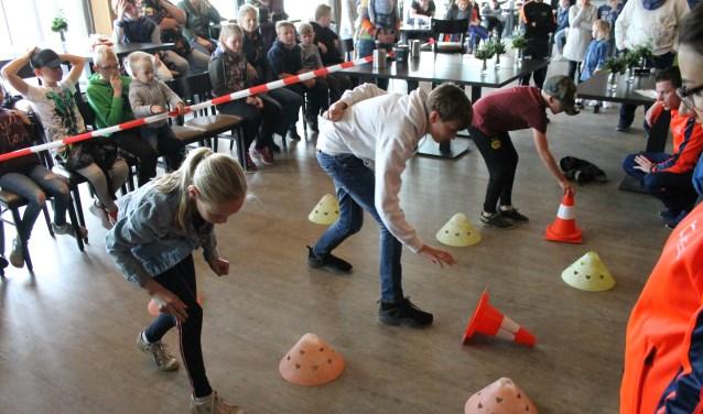 Bij FC Eibergen werd op dinsdag 1 mei de finale van de 'Pionflip Challenge' gehouden.