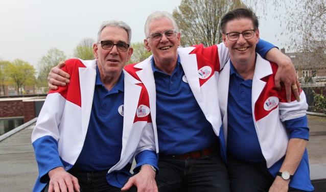 Ton en Ger Heesakkers en Rien van Doorn vormen met elkaar het trio GeRiTo en brengen leven in de brouwerij bij wie wil. Foto Wendy van Lijssel