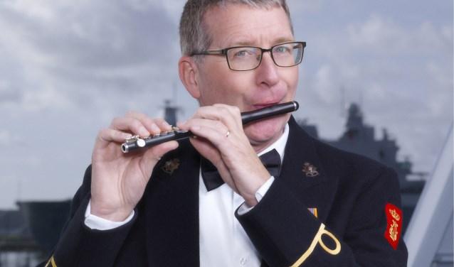 """,,Tijdens het concert op 18 mei is de relatie met Bergen op Zoom groot, dirigent Jasper de Waal en solist Jeroen de Groot zijn net als ik afkomstig uit de stad. Ook collega trompettist John Curfs woont hier en saxofonist René Hendrickx is  zeker geen onbekende."""" FOTO: CORNE VAN DER STELT"""