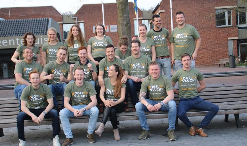 Het 'Groene Leger' is het initiatief gestart met ongeveer 40 mensen van de doelgroep. (foto: Grietje-Akke de Haas)