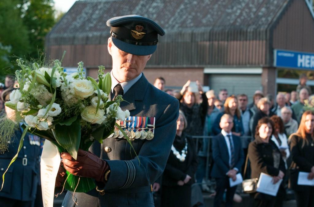 Dodenherdenking Spijkenisse 2018 Foto: Ropa Photo © Persgroep