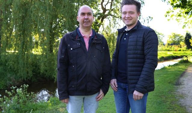 Corné Cremers en Renzo de Man kijken vol vertrouwen uit naar de zesde editie van Oerparcours Mill (foto: Marco van den Broek)