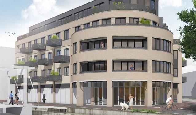 Voormalige bestuurskamers van burgemeester en wethouders worden getransformeerd naar exclusieve appartementen. Foto: PR