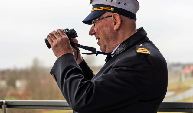 De kapitein in Geen Man Overboord. Foto: Birgit Schuch