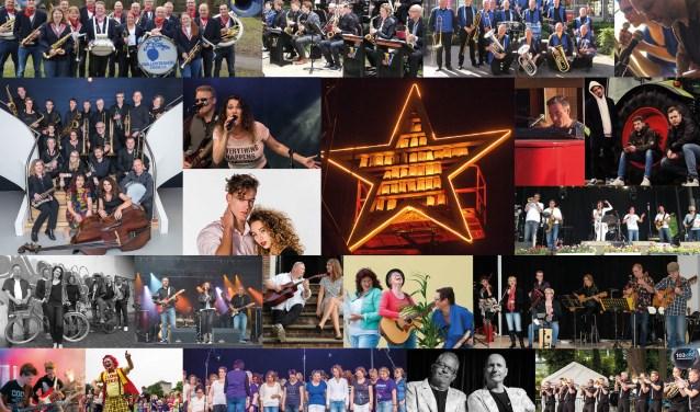 Tijdens de SamenLoop voor Hoop op 26 en 27 mei in Park de Wezenlanden treden alle artiesten belangeloos op.