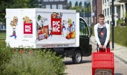 De online supermarkt Picnic start voor het gratis bezorgen van de boodschappen in Breda met 10 duurzame elektrische wagentjes en met 30 bezorgers. Je inschrijven bij deze online supermarkt kan door een app te downloaden van https://www.picnic.nl/ en je dan vervolgens te registreren.