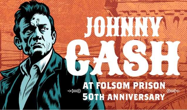 Het album Johnny Cash at Folsom Prison werd uitgebracht in 1968.
