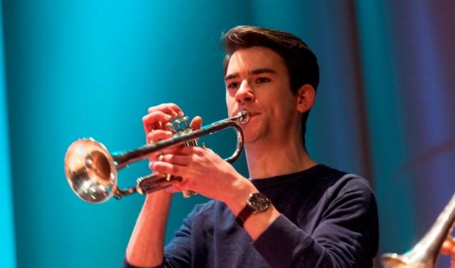 Trompettist Tim Meulenbeld