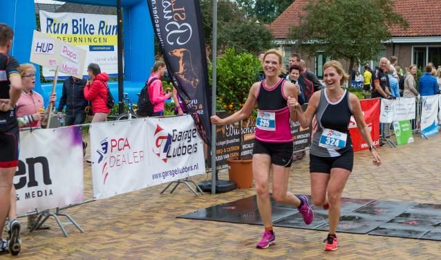 Ruim vierhonderd sporters doen mee aan de Run Bike Run op 24 juni. Onder hen veel werknemers van sponsor Borghuis. Foto: dezefoto.nl