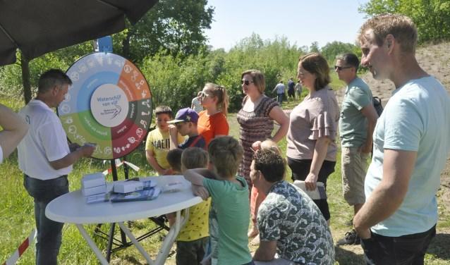 Waterschap De Dommel heeft eefn nieuwe tool met inspiratie en tips geïntroduceerd. Dat trok veel bekijks. Foto: Ad van de Wetering.