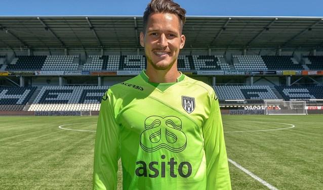 Janis Blaswich is de nieuwe doelman van Heracles Almelo.