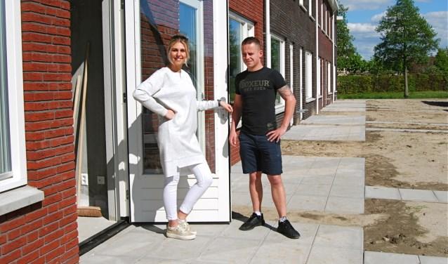 Dave en Rose kozen bewust voor een N.O.M. woning. Voor HW Wonen ook een stukje  bouwhistorie en het begin van een overgang naar een andere tijd. (foto: Arie Pieters)