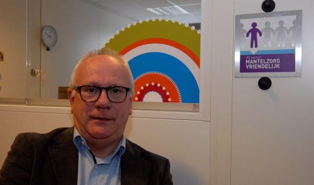 Sociom-directeur Jeroen Rovers: 'Er wordt veel gezorgd, joh.'  (foto: Tom Oosthout)