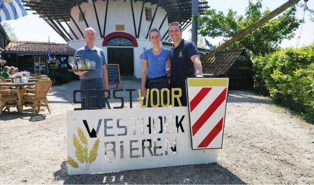 De geschiedenis van Westhoek Bieren voert terug naar 2014 toen het eerste eigen biertje – het Lammegentje – werd bedacht en geserveerd in de Pannekoekenmolen. Foto: Iris Kouwen