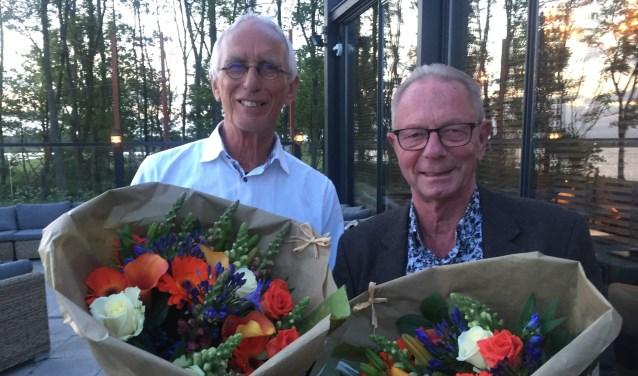 Peter Spek en Koos Aalders.