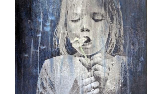 Een uitsnede van een foto, gemaakt door Frans Artz, deelnemend fotograaf aan de expositie 'Fotografie = Kunst'.