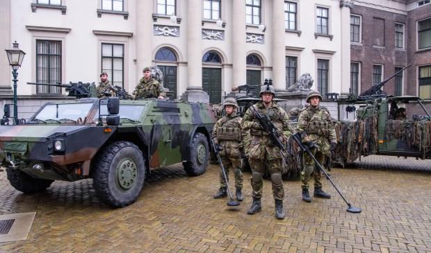 Woensdag 23 mei is er in het Valkenberg en op het Kasteelplein in Breda een Landmachtdag. FOTO: 13 LICHTE BRIGADE