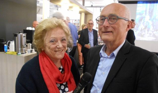 Helma van den Berg en Gerard Oonk