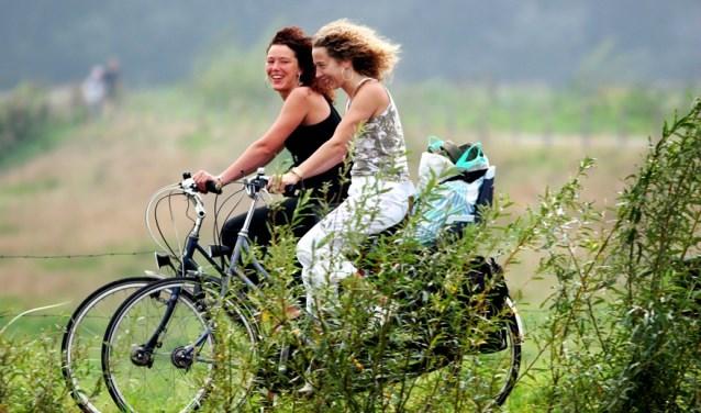 Gepijlde zomerfietstocht vanuit Varsseveld richting Winterswijk