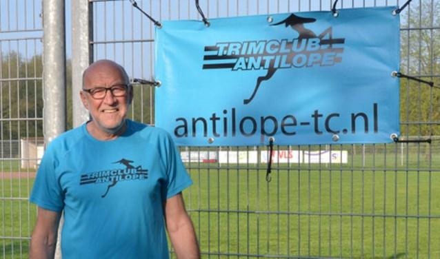 Dick de Ruiter van Trimclub Antilope. (Foto: Privé)