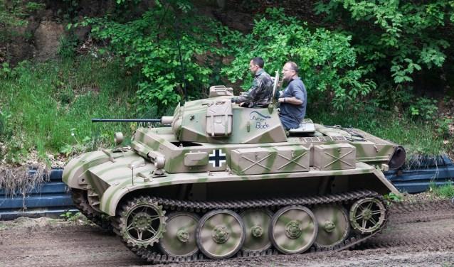 Een Duitse Panzer II. (foto: Peter Damen)