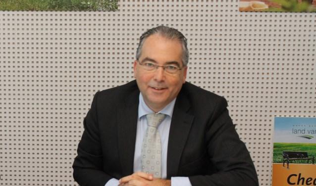 """""""Soms is het moeilijk om op bepaalde zaken je vinger te leggen, '' zegt wethouder André van der Reest. (FOTO: LEON JANSSENS)"""