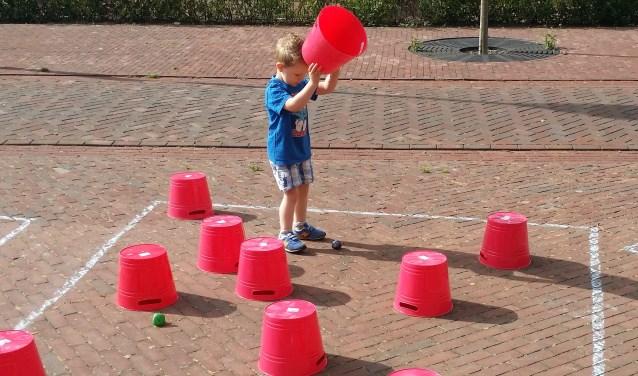 Aan de Bedrijvenweg in Needestaat een breed speelaanbod klaar.
