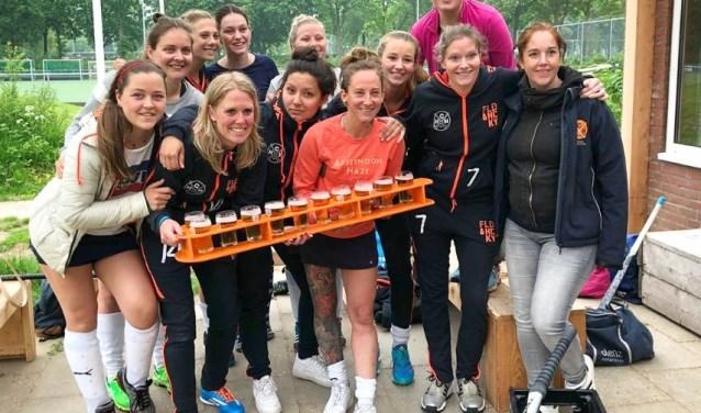 Miek van Geenhuizen is een Nederlandse hockeyspeelster en voormalig international. Ze is nu actief bij De Haaskamp. (Foto: HesterHeleen Fotografie)