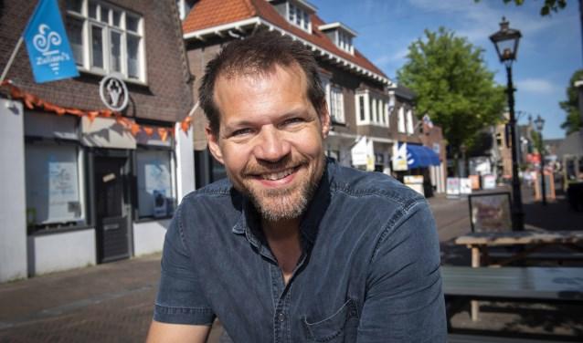 """René van Kooten: """"Kanker loopt helaas als een rode draad door mijn leven."""" Foto: Ronald Stam"""