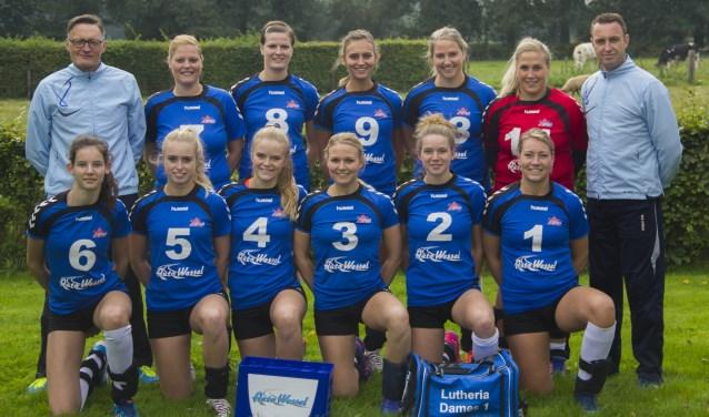 De volleybalsters van Lutheria zijn alsnog gepromoveerd naar de tweede divisie. De tweede plek in de playoff in Aalten bleek uiteindelijk genoeg om de ontstijgen uit de derde divisie.