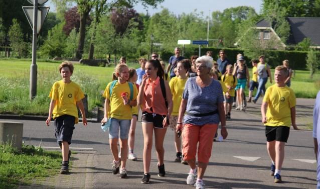 De avond wandel4daagse van Heerde wordt georganiseerd door Skeelerclub Oost Veluwe.