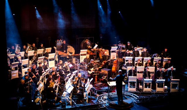 Het orkest van de Koninklijke Luchtmacht.