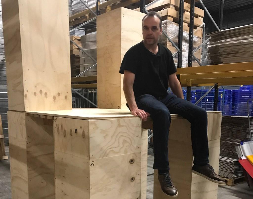 Roland Smeenk op de Praatstoel in ontwikkeling.