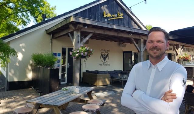 Rien Mol van Het Rheins is genomineerd voor Meest Markante Horeco-ondernemer van Overijssel. Het is een nominatie die je maar één keer kunt krijgen. Eigen foto.